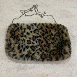 Handbags - (3for$20) Purse~ Animal Fur (fake) ~ Great Shape